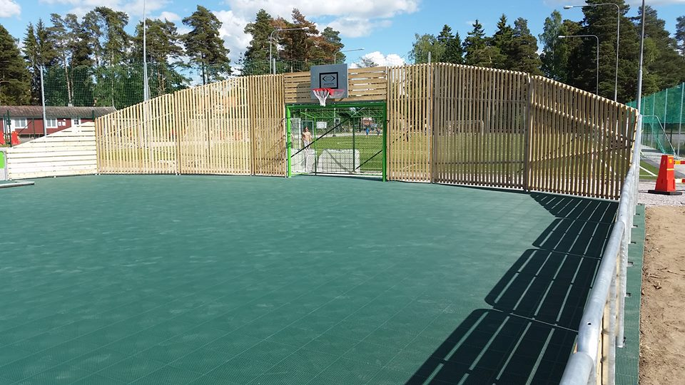 artifical turf, artifial grass, multi use games area, unisport