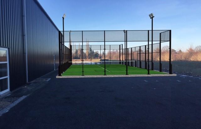 padelbane padel tennis fitness center protreatment danmark unisport