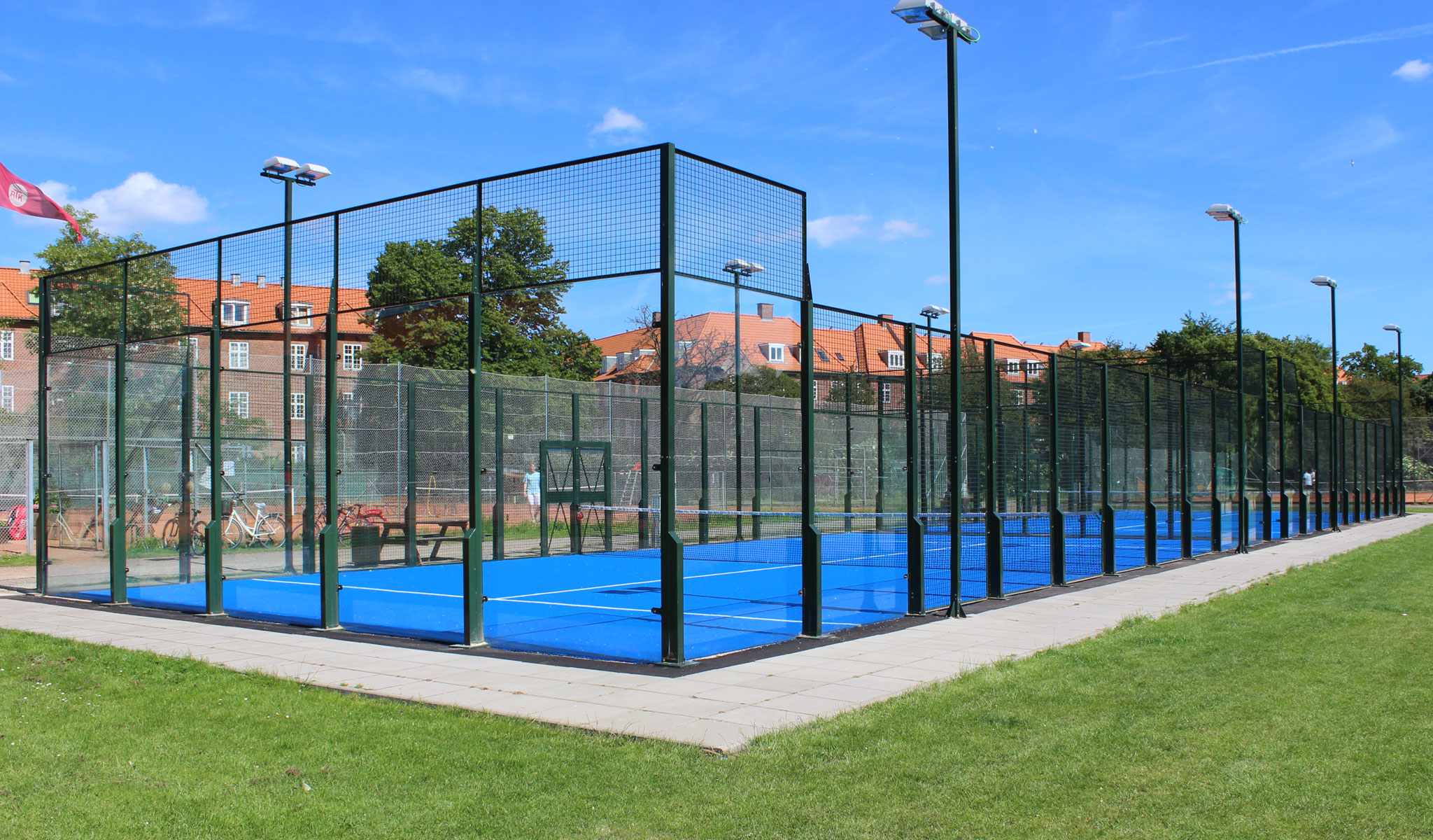 padel padelbane padeltennis padel tennis grøndal multicenter unisport
