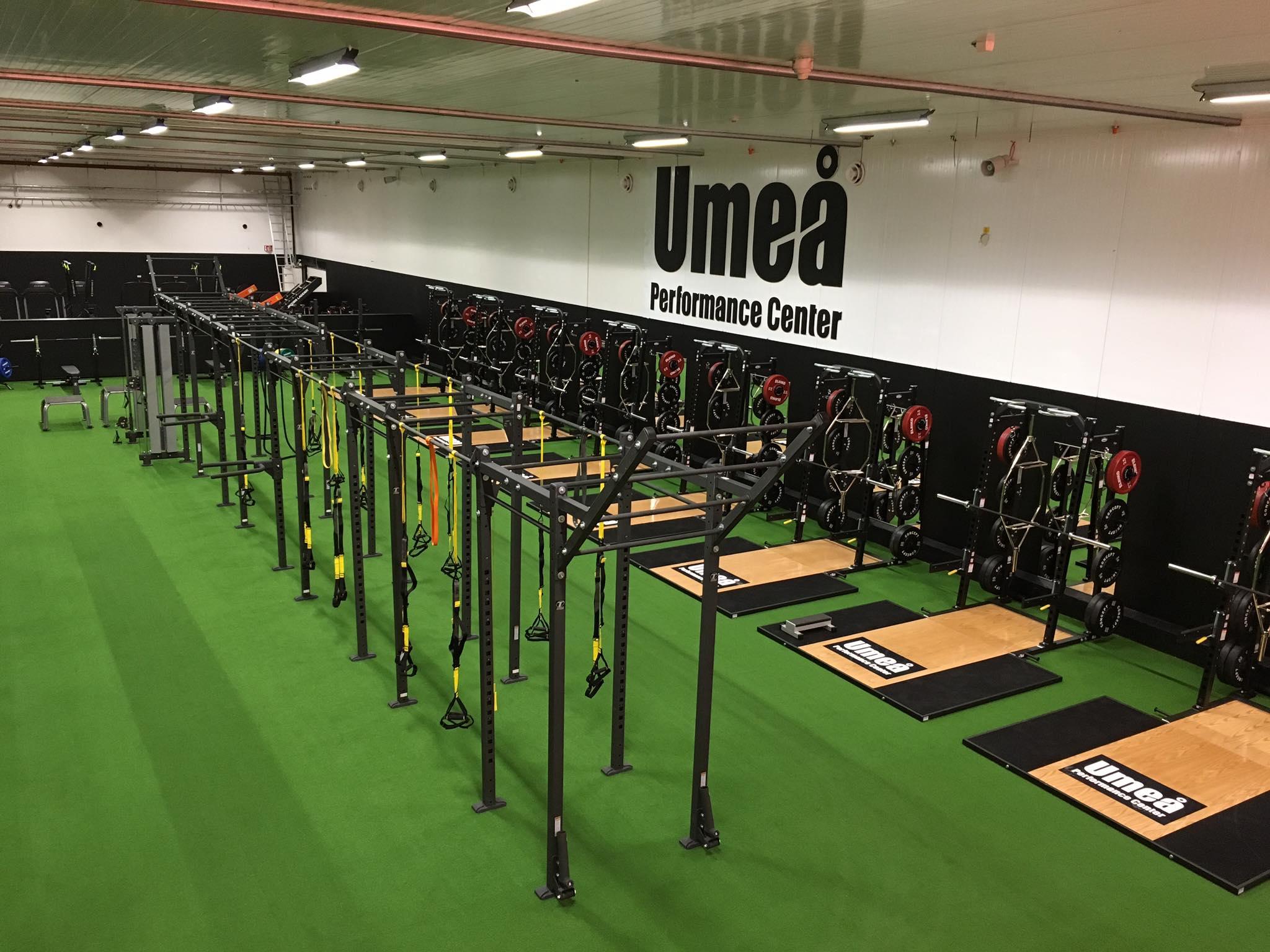 konstgräs gym träningsanläggning gymanläggning löparbana unisport