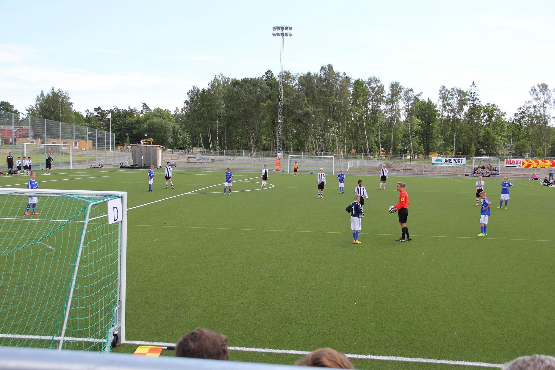 konsgräsplan konstgräs fotboll bromölla unisport
