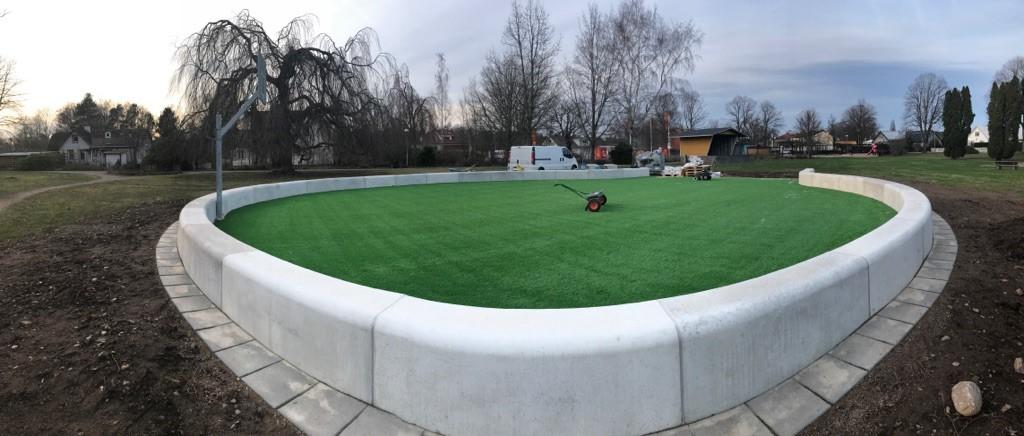 kunstgress hage park bygård hagearbeid terrasse unisport