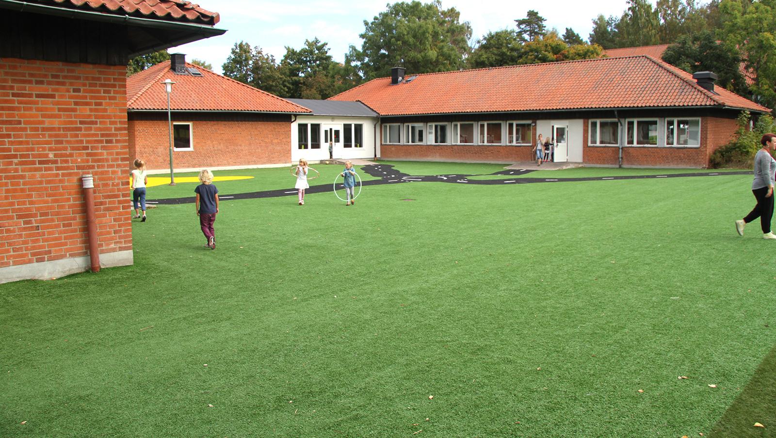 konstgräs skola skolgård unisport