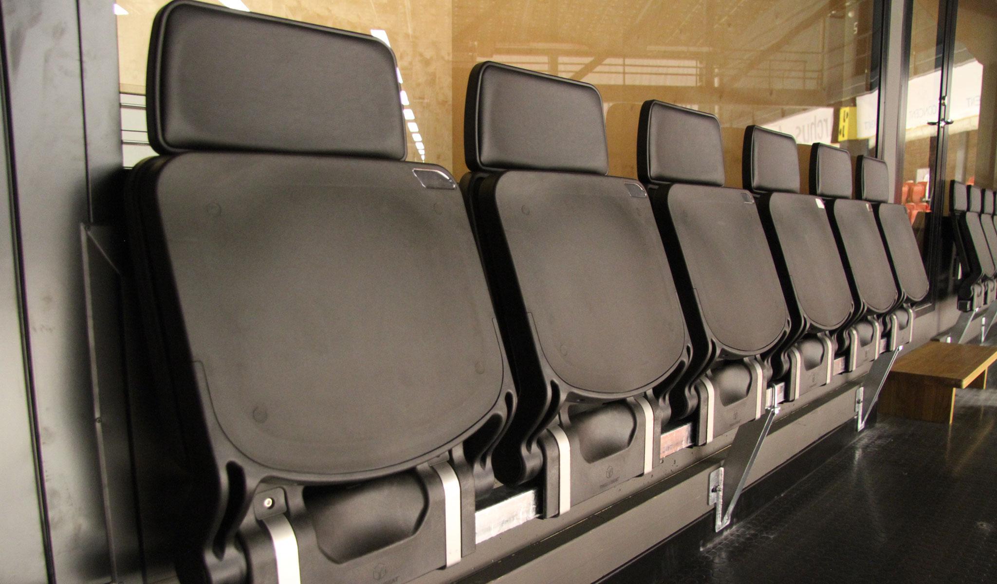 boxseat 909 tribunesæde i plats VIP stol unisport