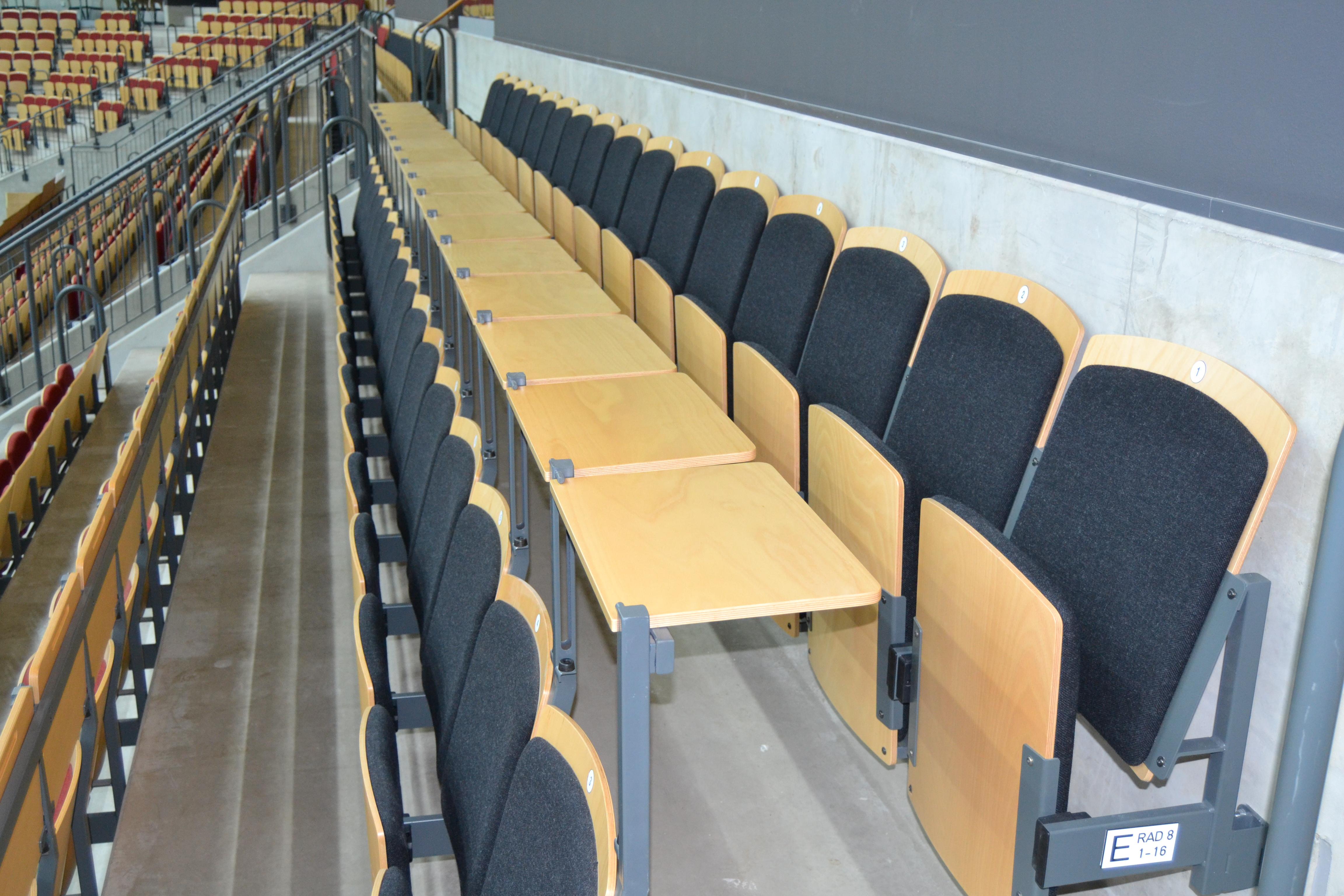 teleskobtribune tribunstole tribunesæde goal m unisport