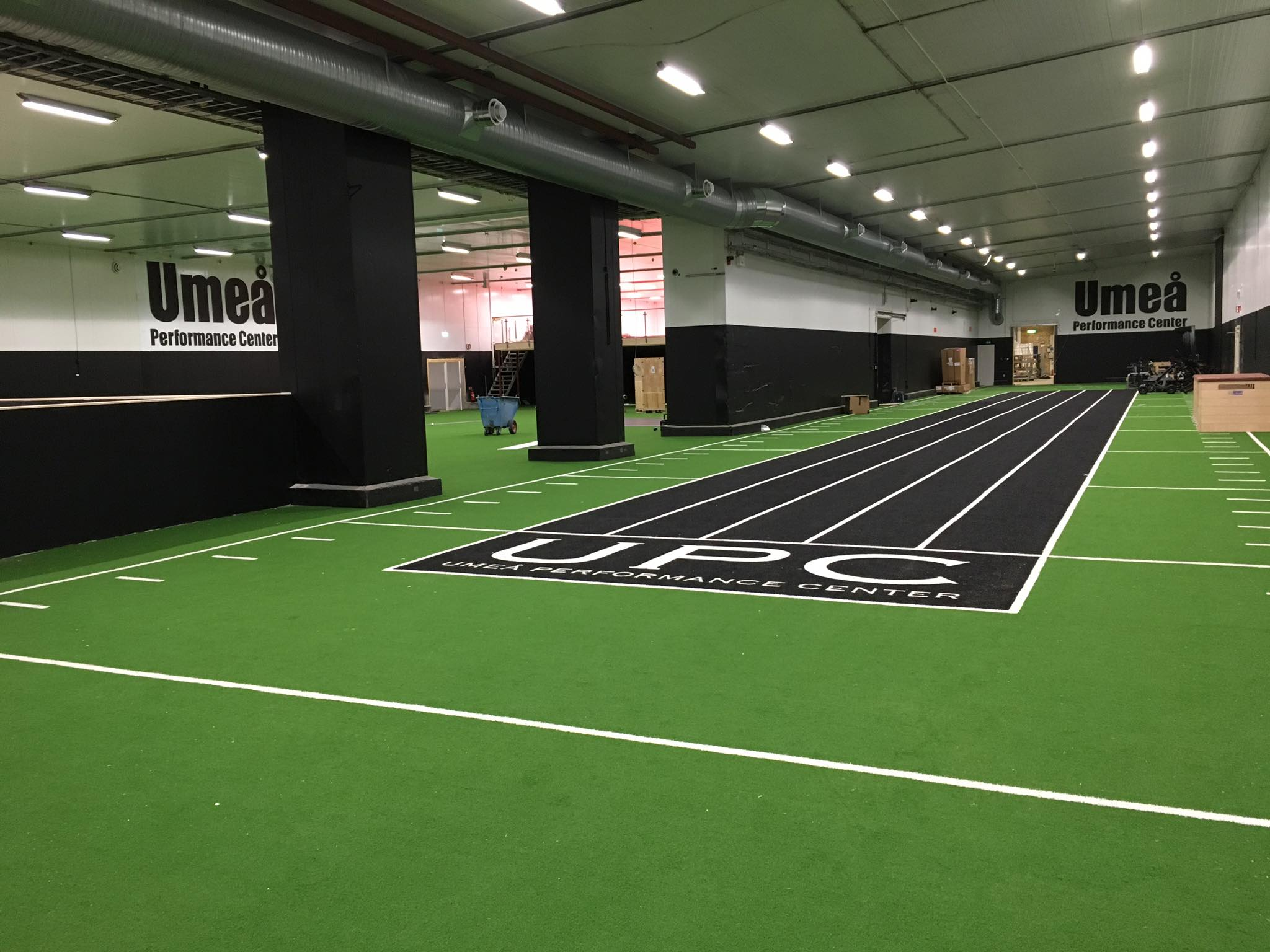 kunstgressbana løpebane gym unisportt