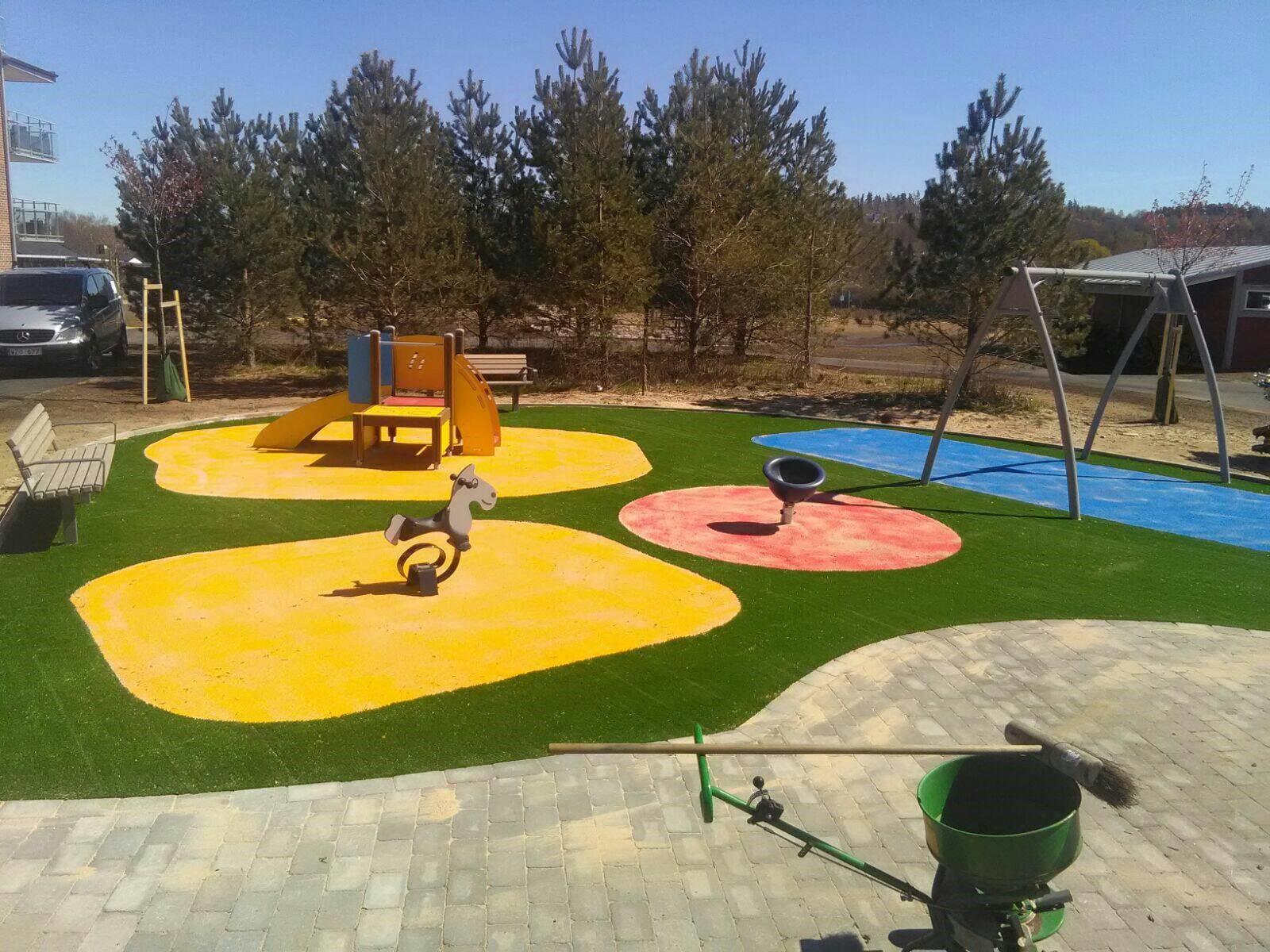 kunstgræs legeplads unisport