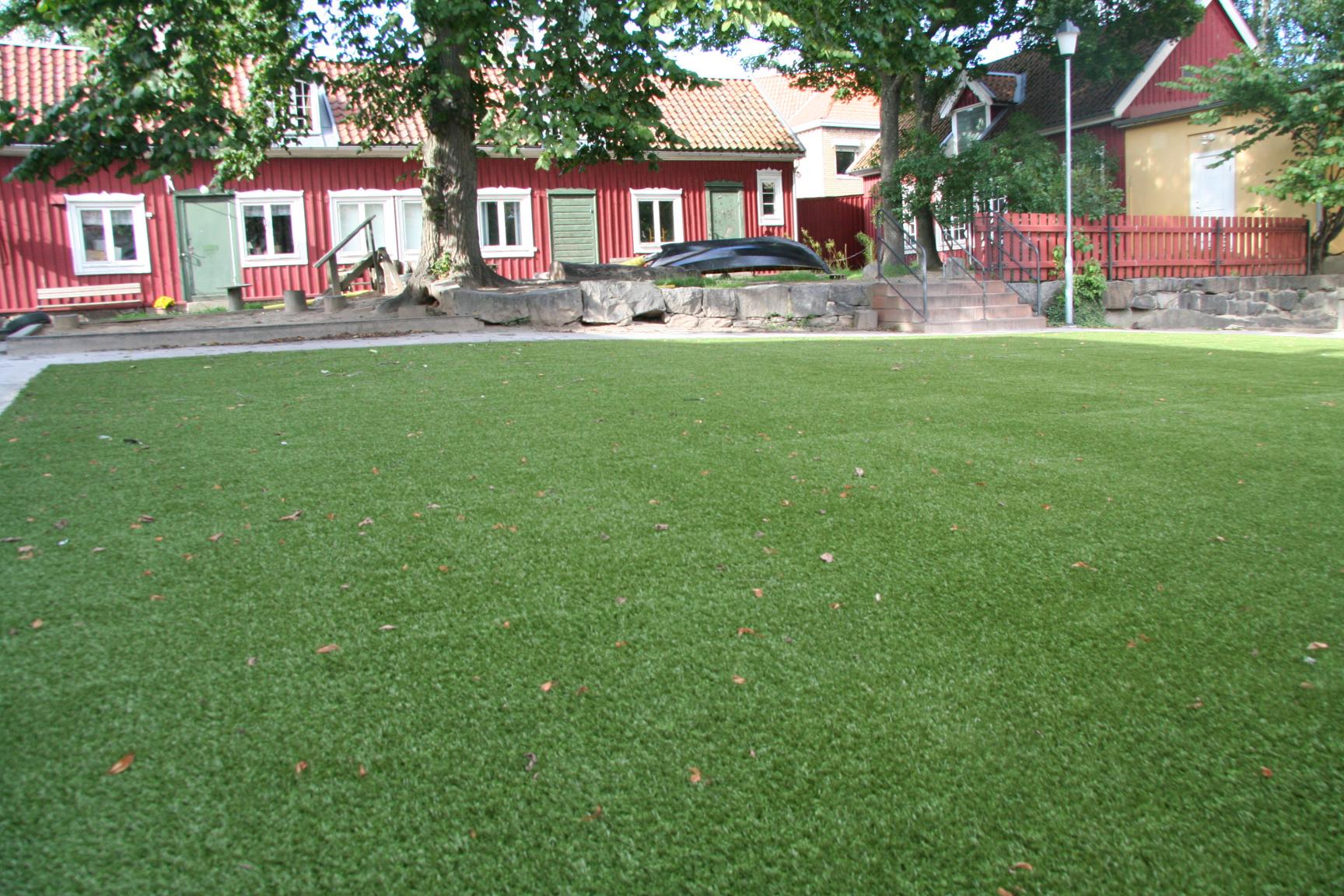 konstgräs allmänna platser trädgårdar unisport