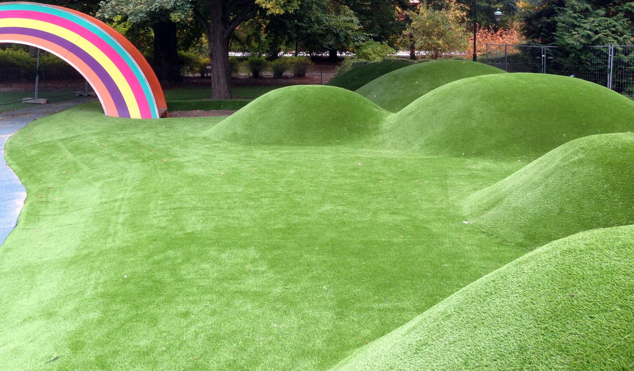 kunstgræs faldunderlag fra unisport
