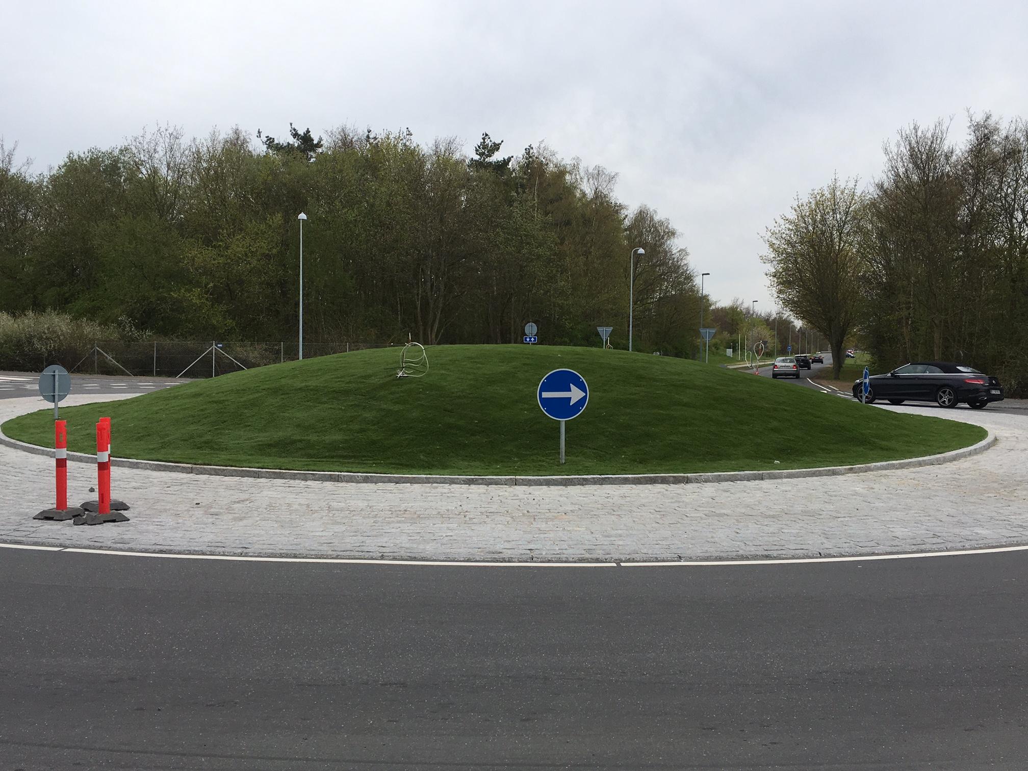 kunstgræs trafikpladser rundkørsel unisport