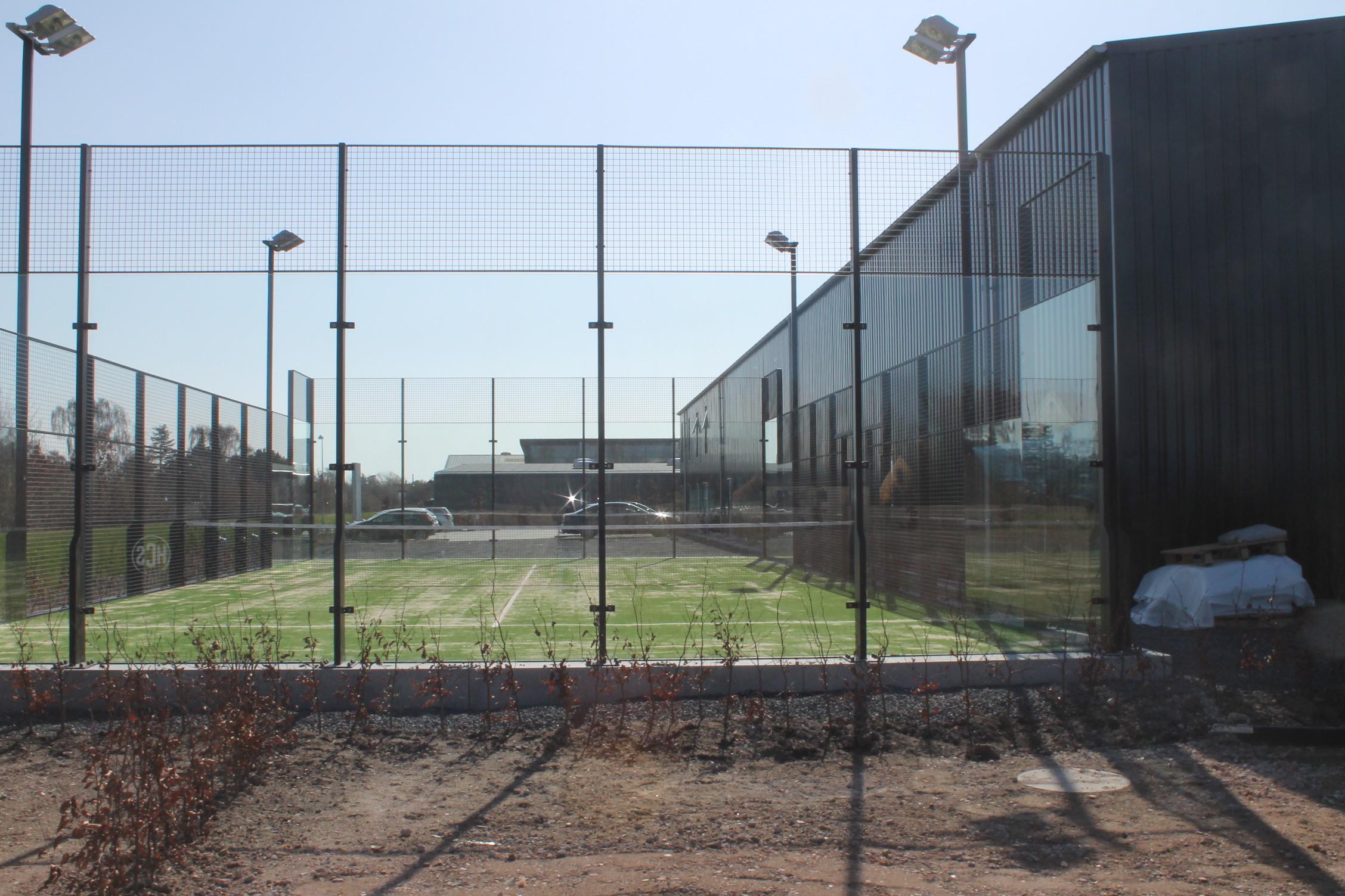 padel padelbane padeltennis padel tennis unisport