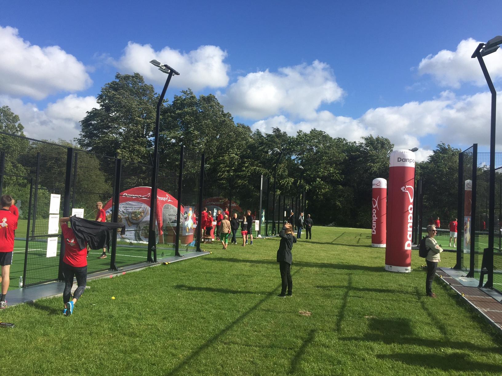 mobile padelbaner padeltennis padel unisport