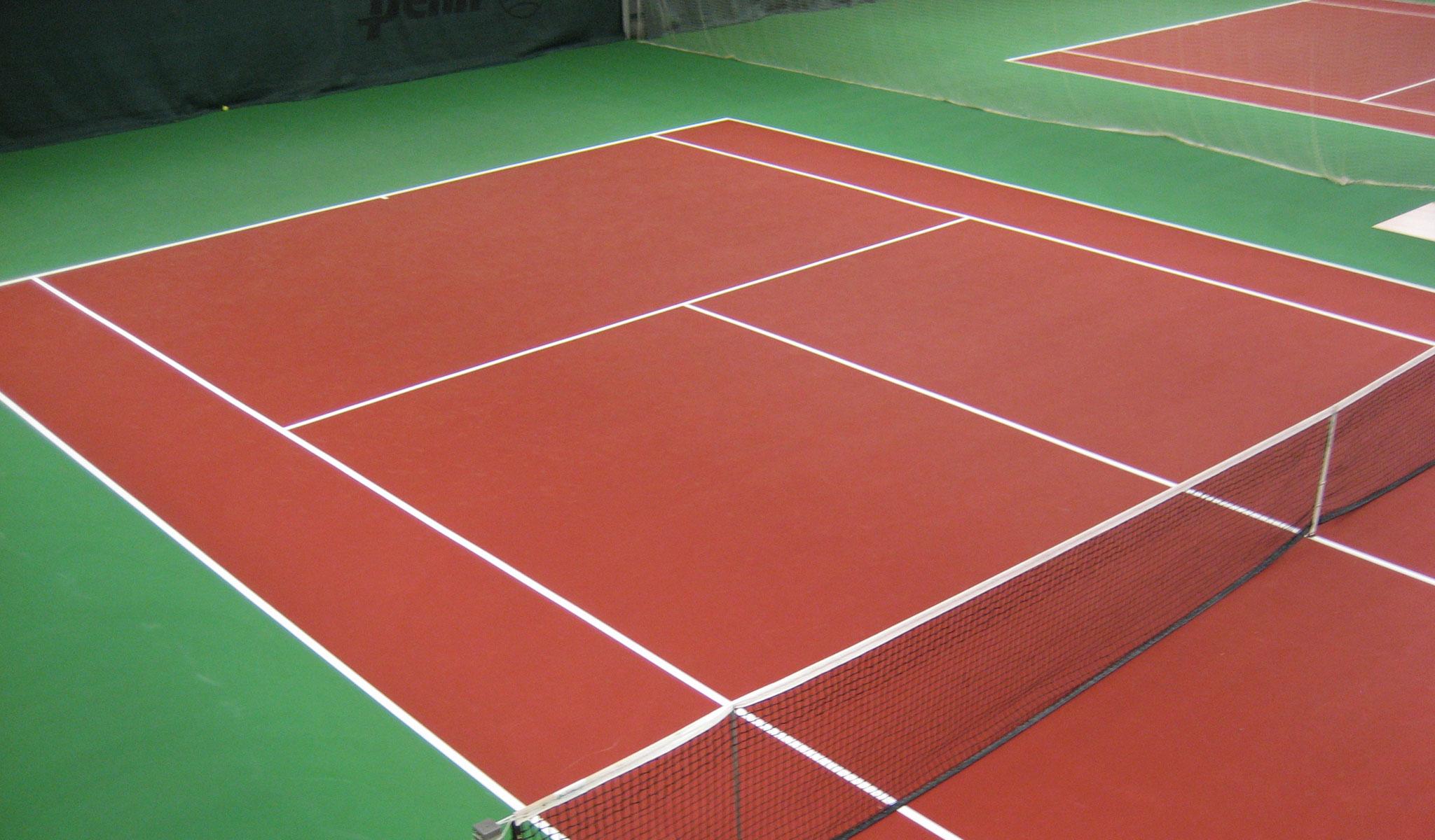 profelx tennisbana tennisbeläggning tennisunderlag från unisport