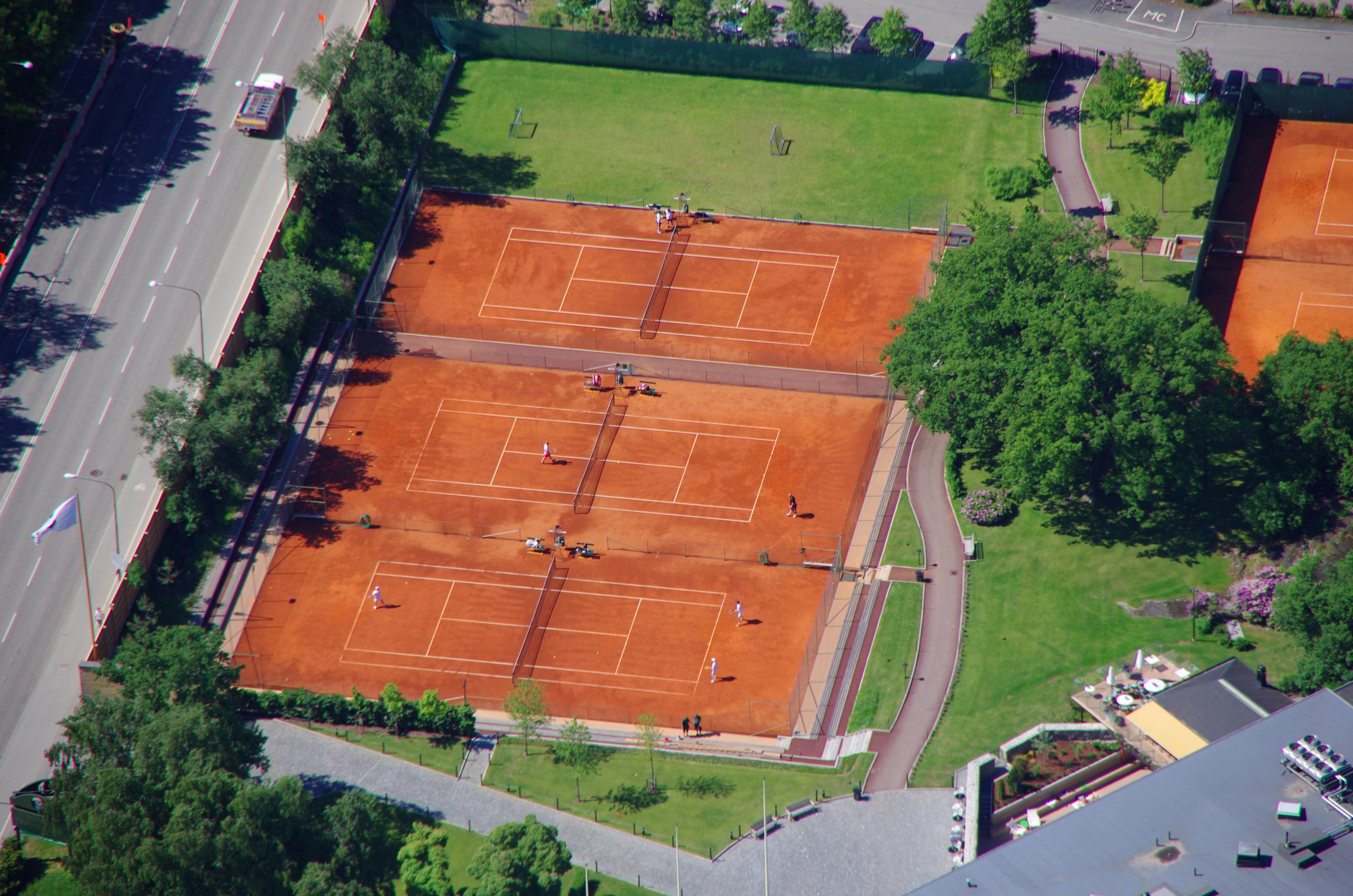 claytech tennisbana tennisbeläggning från unisport