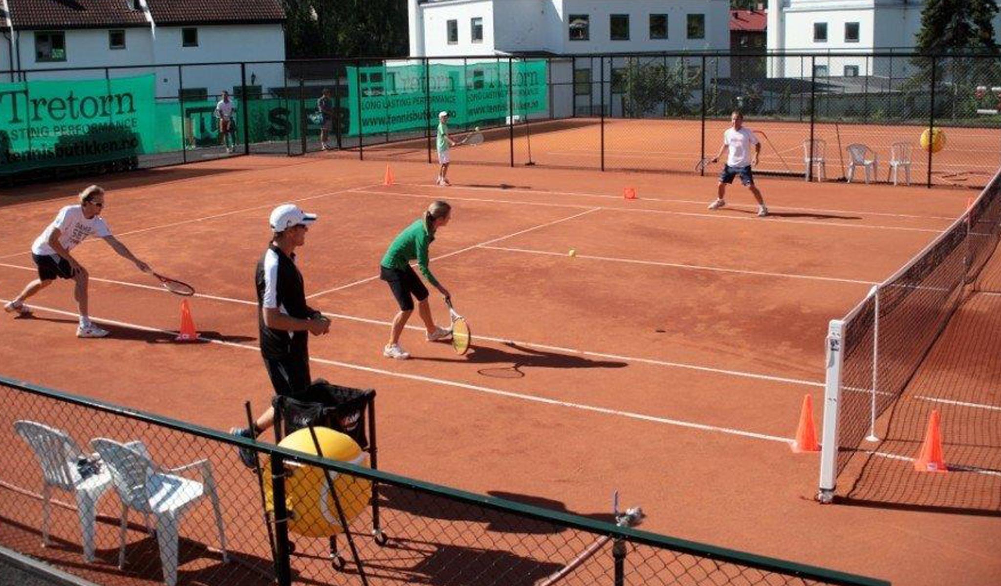 claytech tennisbane tennisunderlag fra unisport