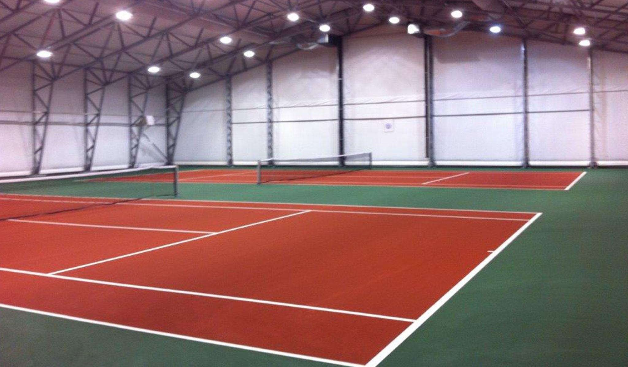 greenset tennisbana tennisbeläggning tennisunderlag från unisport