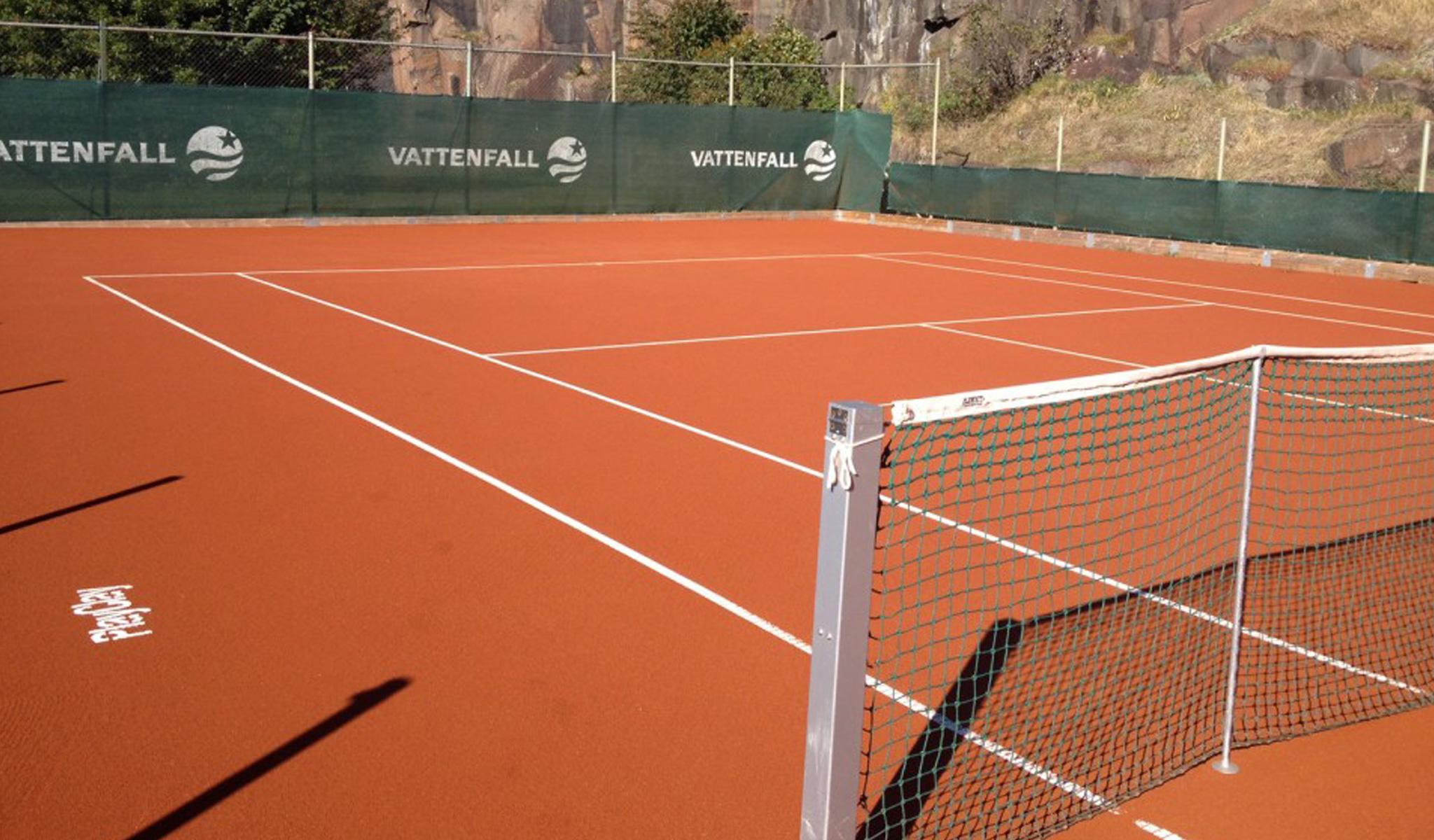 topsand tennisbane tennisunderlag fra unisport