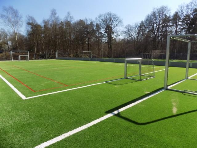 kunstgræs multisport multisportsbane fra unisport