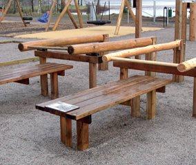 utegym utform i trä från rantzows unisport