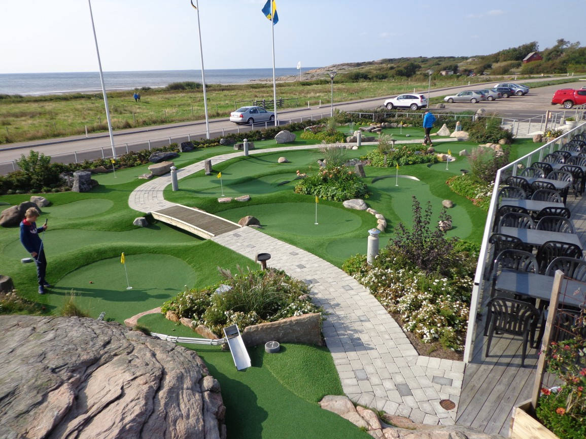 kunstgress til eventyrsgolf golfbane green tee fra unisport