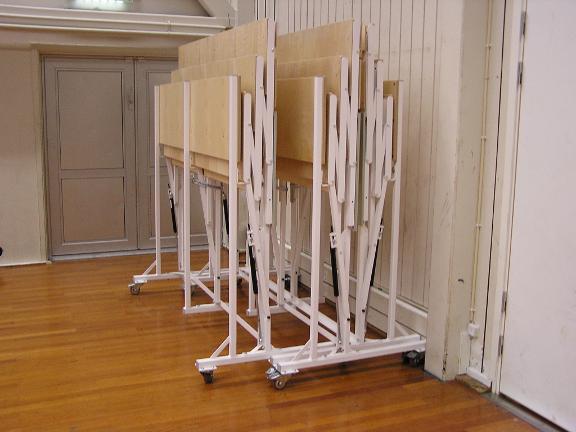 portable folding bleachers unisport