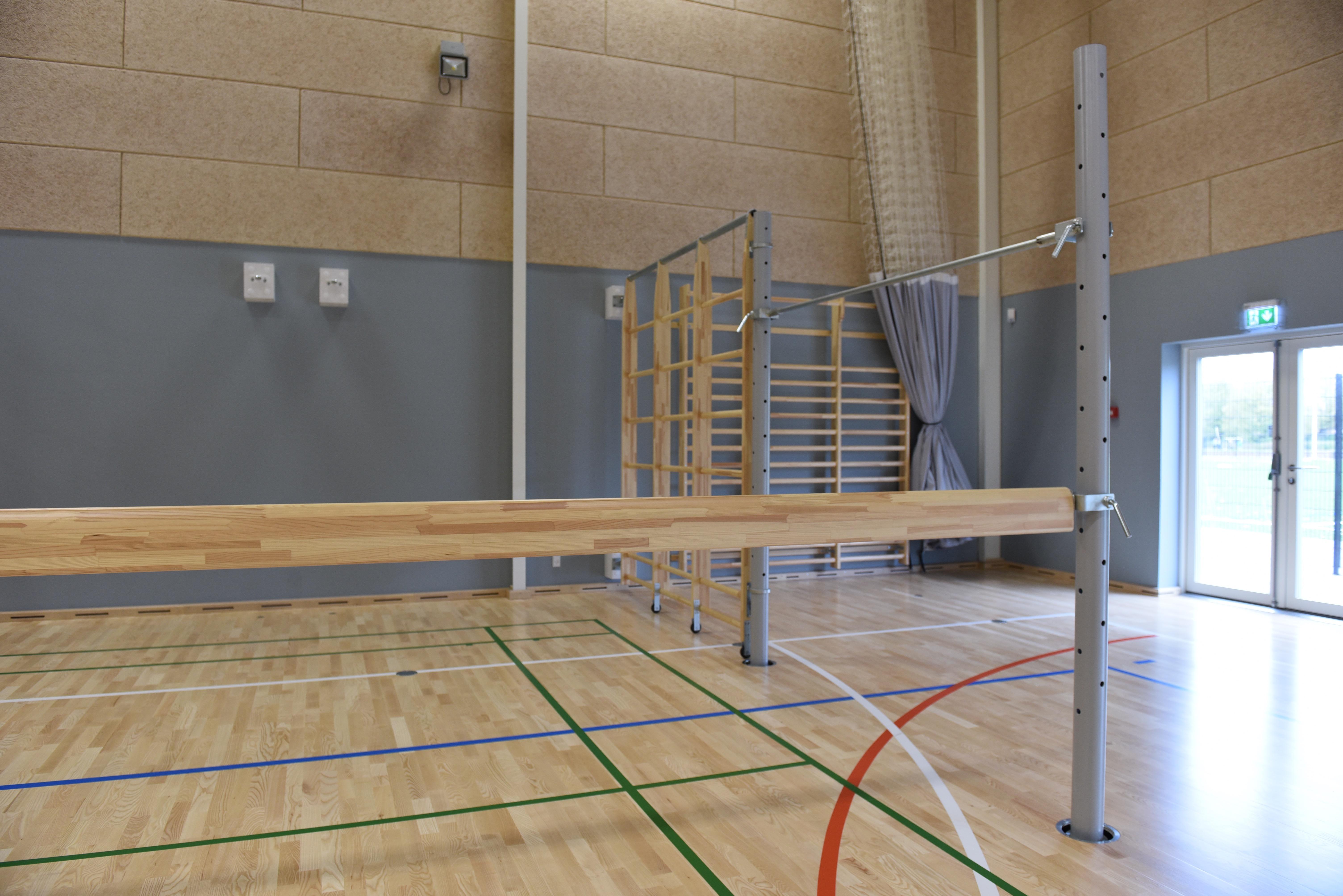 Udstyr til Sporthaller gymnastikredskaber fra rantzows unisport