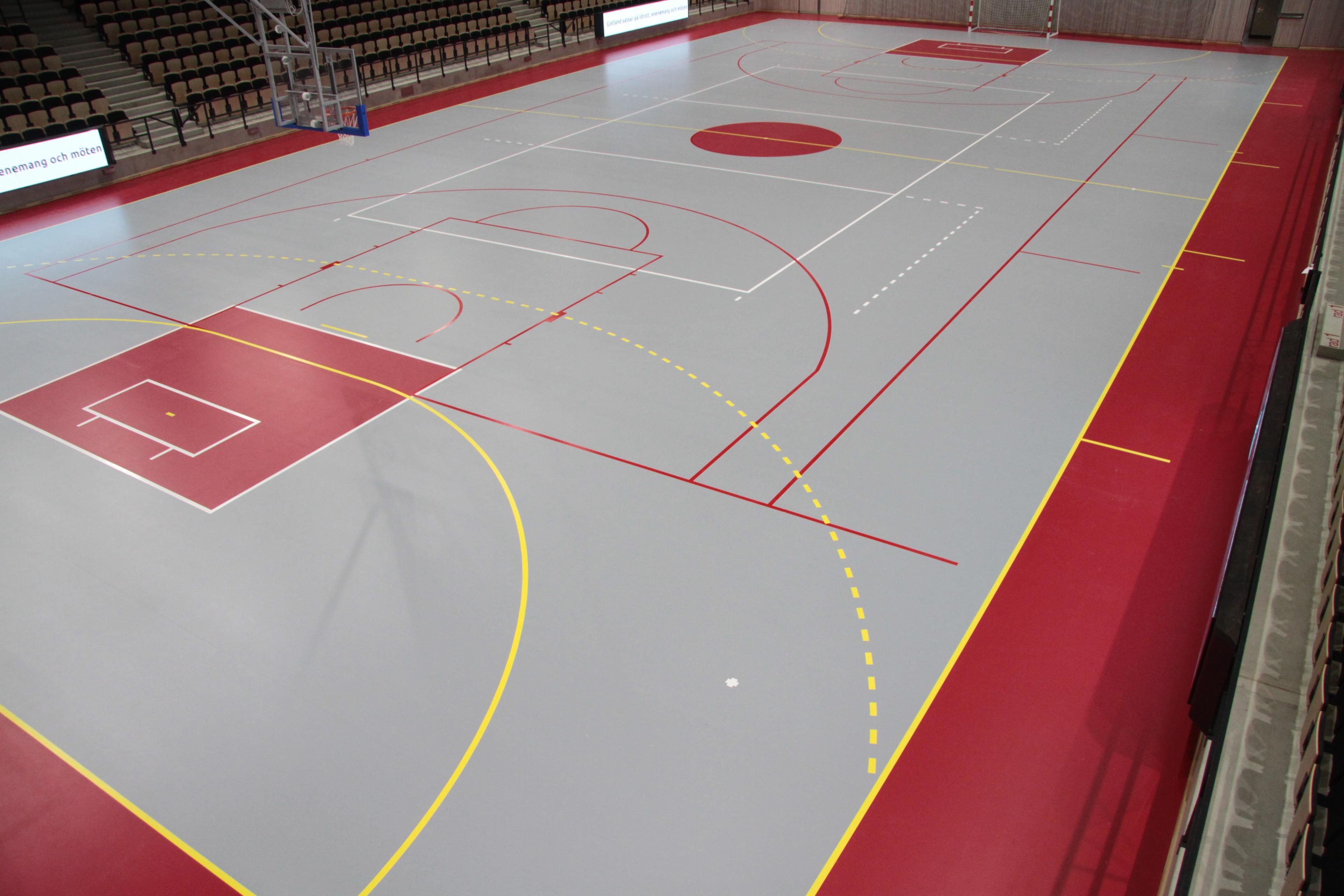 Unisport toimittaa kokonaisratkaisun Visborgin urheiluhallille