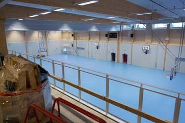 sportgolv sporthallsinredning sporthallsutrustning unisport