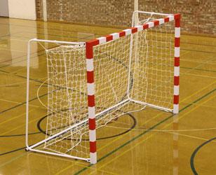 Competition Folding Aluminium Handball Goals by Unisport