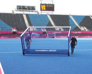 Outdoor Hockey Goals Integral Weighted by Unisport