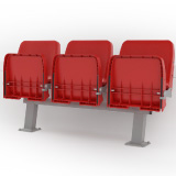 Spectator Seating Tip Up AB Seating by Unisport
