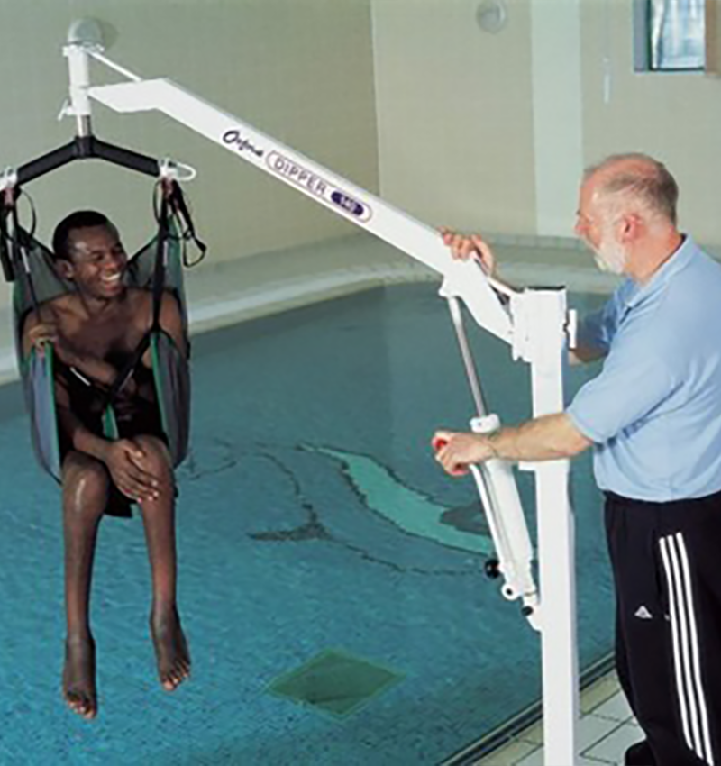 Swimming Pool Oxford Dipper Pool Hoist by Unisport
