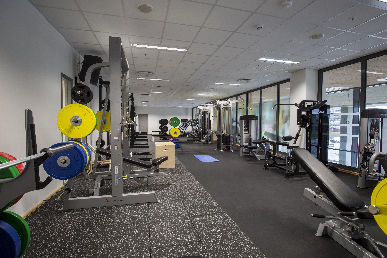 treningsrom gym gymmatte gymgulv støtdemping