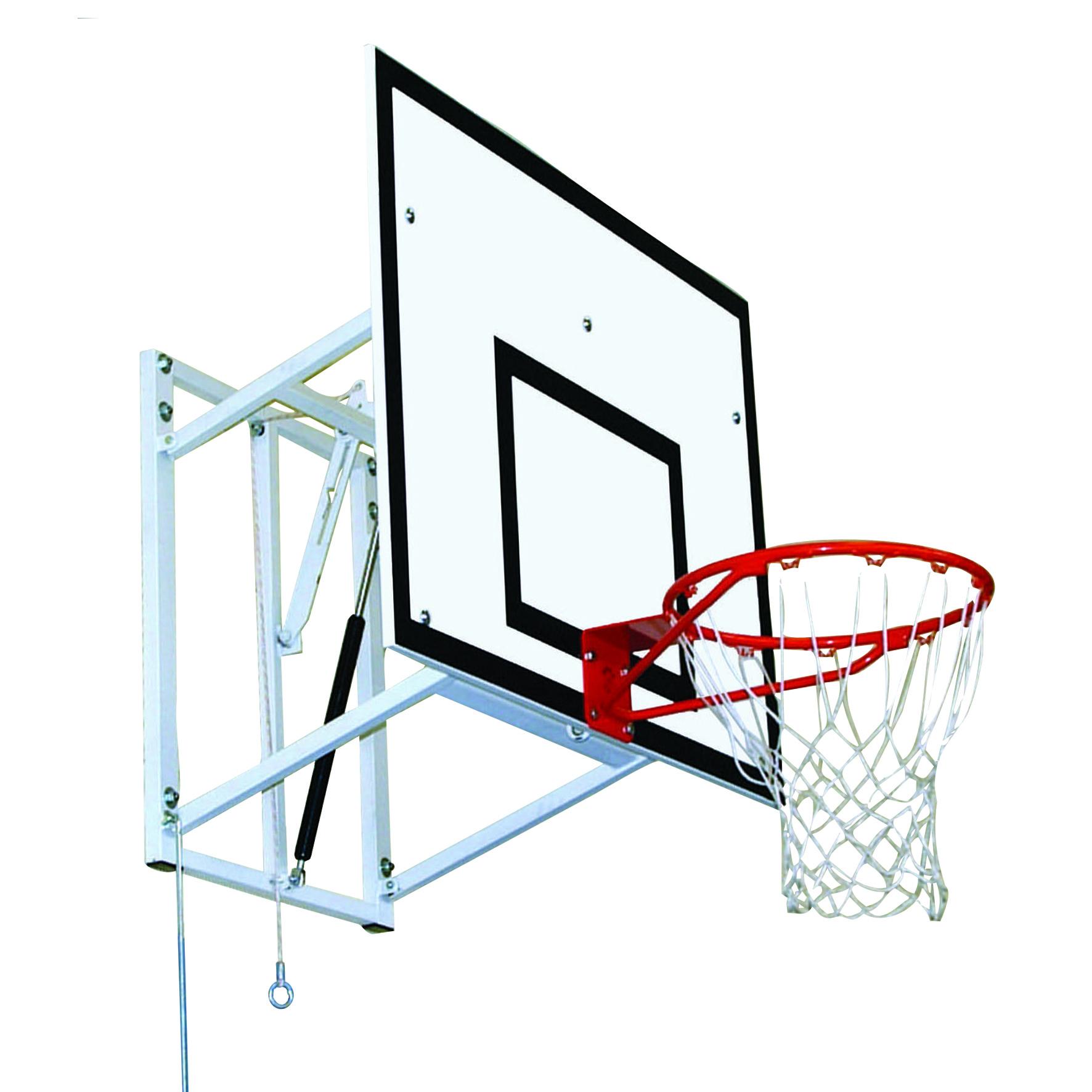 Adjustable Height Practice Basketball Goal by Unisport