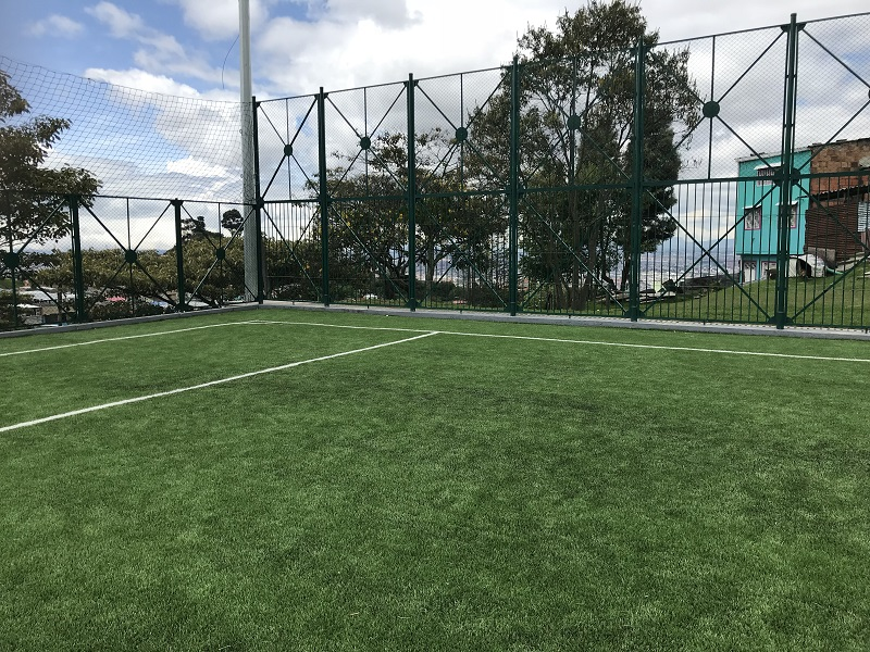 artificial turf for football unisport saltex