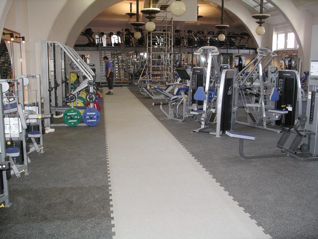 gymgolv fitnessgolv gymmatta gummigolv gym unisport