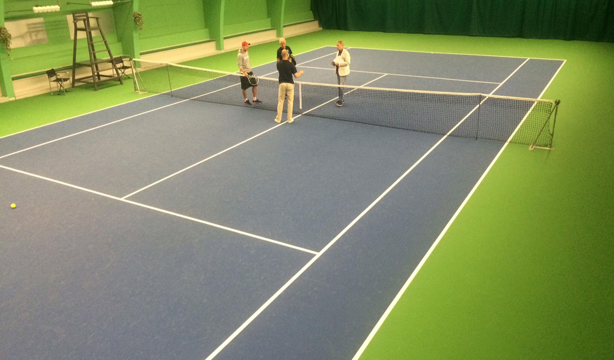 proflex tennisbane tennisunderlag unisport