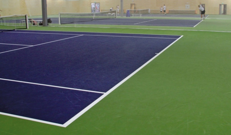 tennisbane tennisunderlag unisport