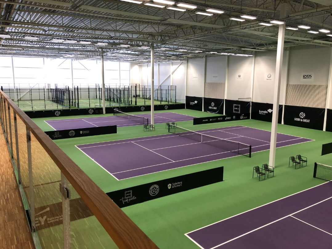 good to great catella arena tennisbanor greenset padel padelbanor unisport