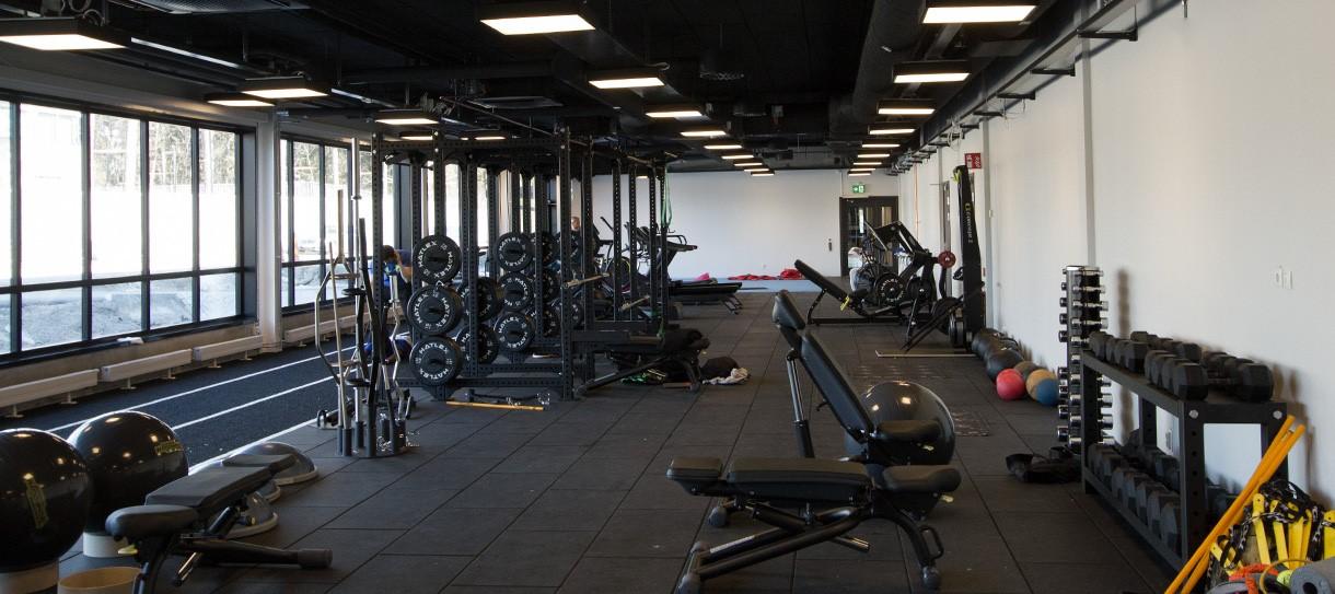 good to great catella arena gym gymgolv från unisport