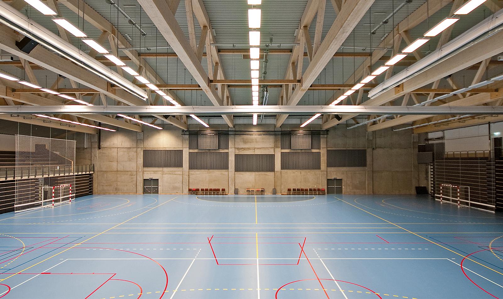 tronderhallen linjering unisport