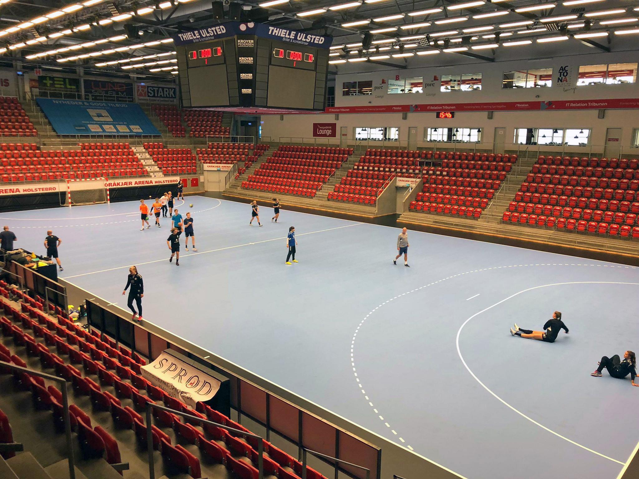 Gråkjær Arena - Taraflex sportsgulv