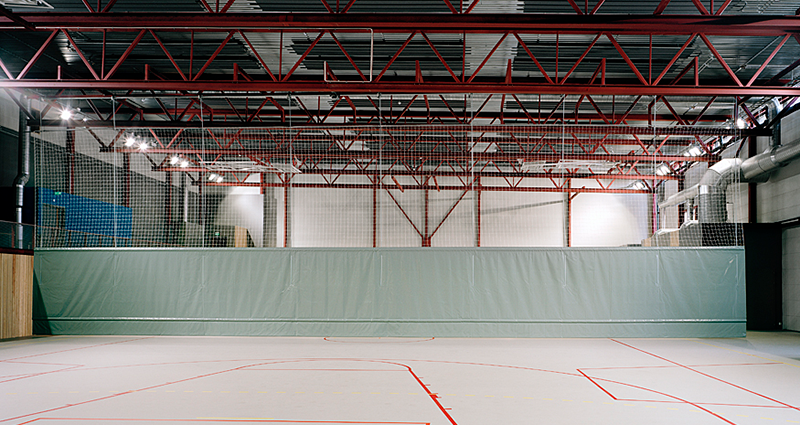 Sports Hall T500 Motorised Divider by Unisport