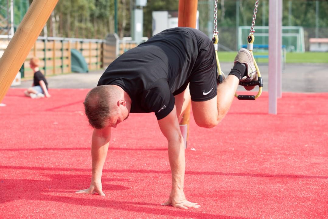 utegym och motorikbana/hinderbana tomelilla ip från unisport