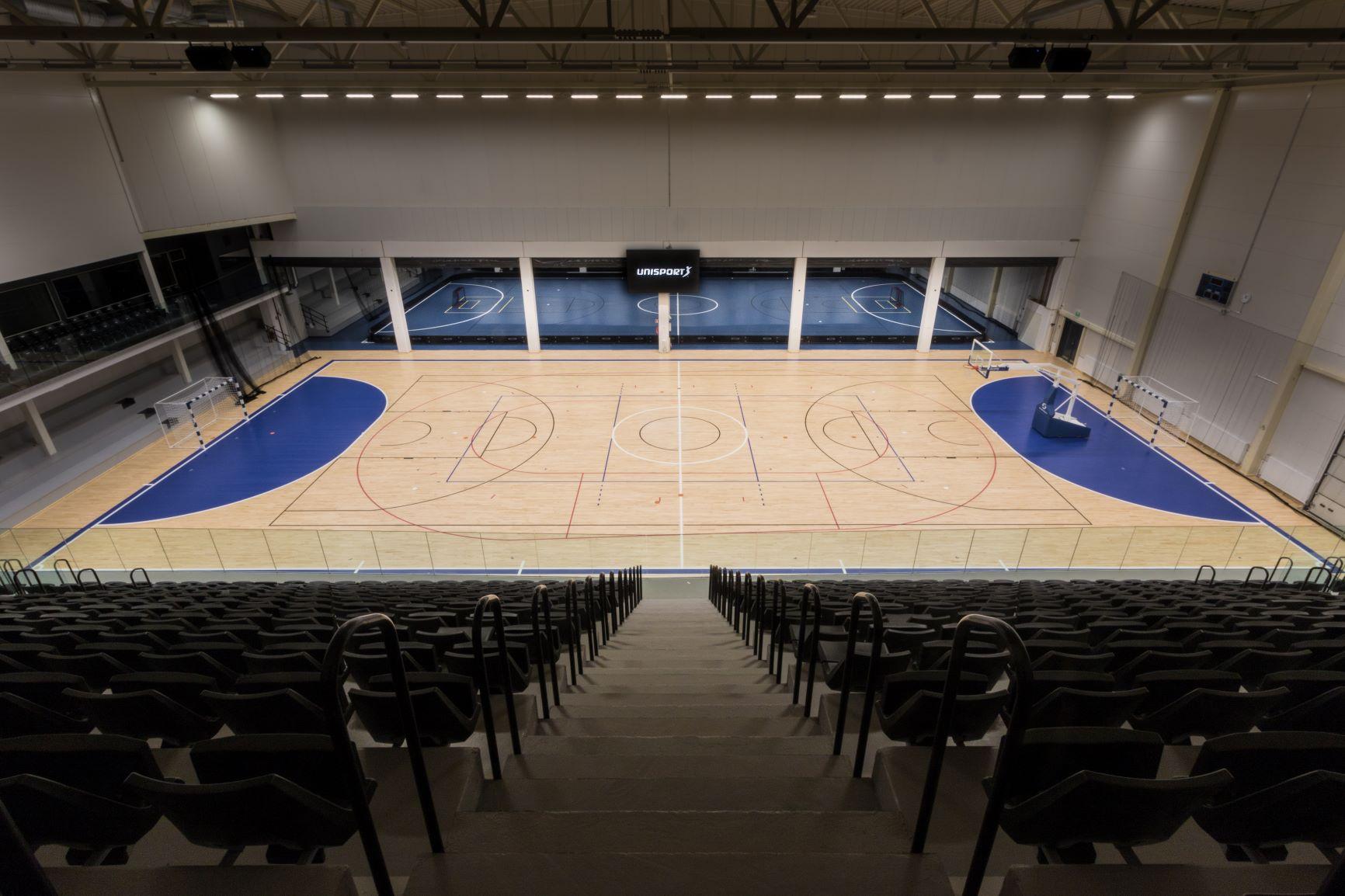 Unisport urheilulattia Kauppi Sports Center