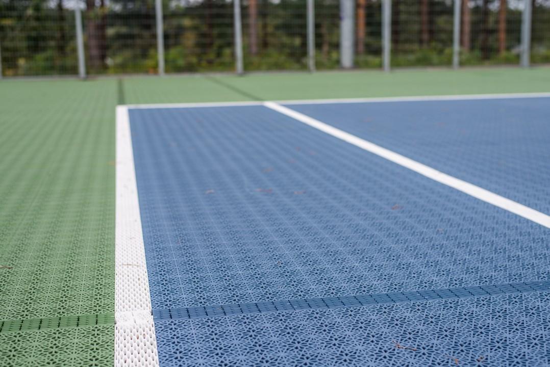 Bergo Eco Tennis sportgolv tennisgolv utomhusgolv unisport