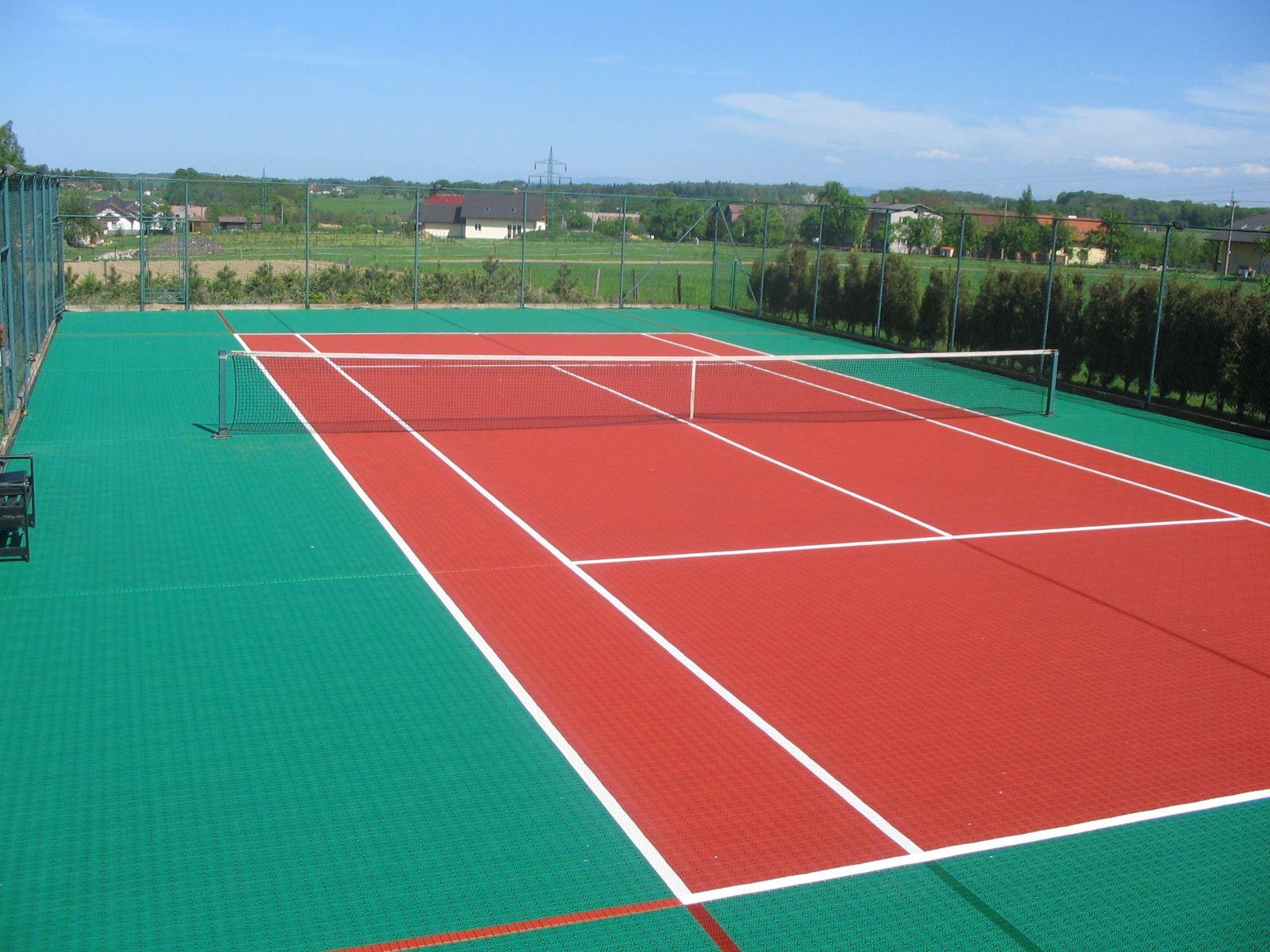 Bergo sportgolv tennis utomhusgolv unisport