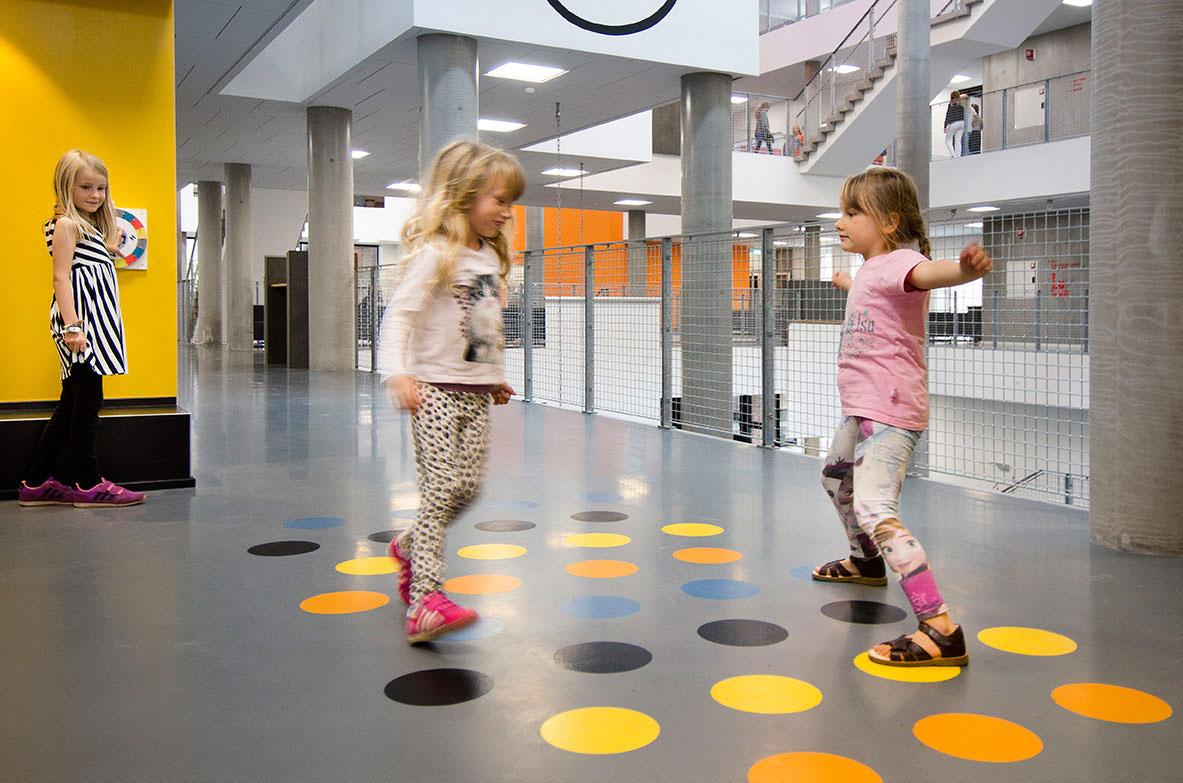 Twister hjul, Frederiksbjerg skole
