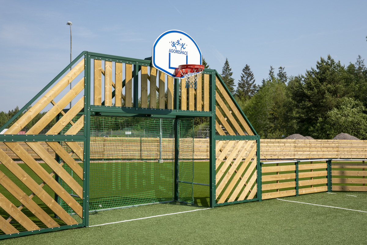 Unisport padel kunstgræs multibane udendørs fitness