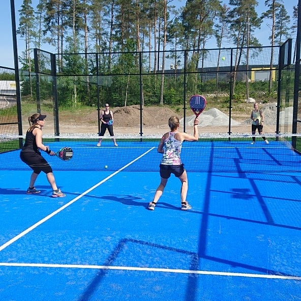 padelbana padelbanor padelcenter house of padel sölvesborg unisport